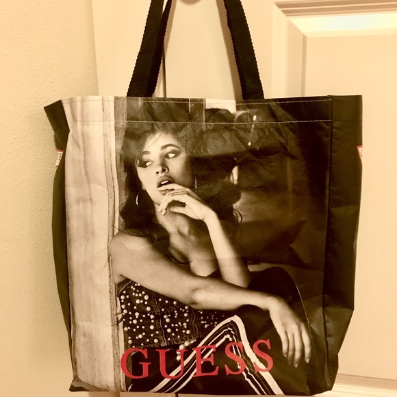 Camila Cabello Guess Tote Bag